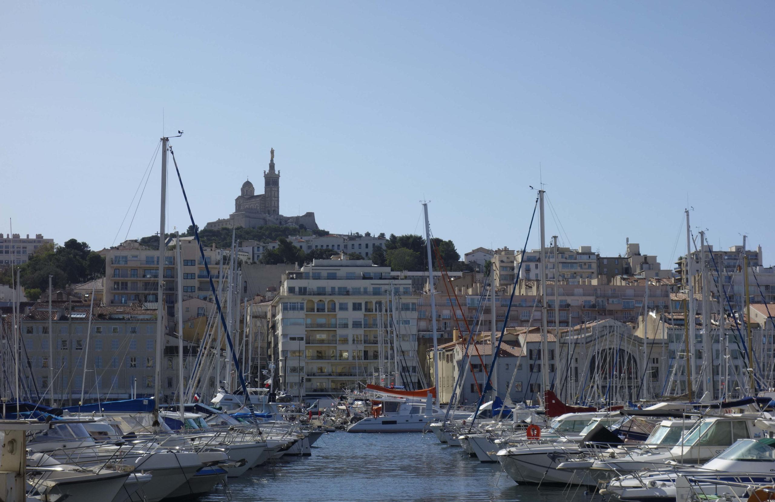 Ferientraum Hafen von Marseille