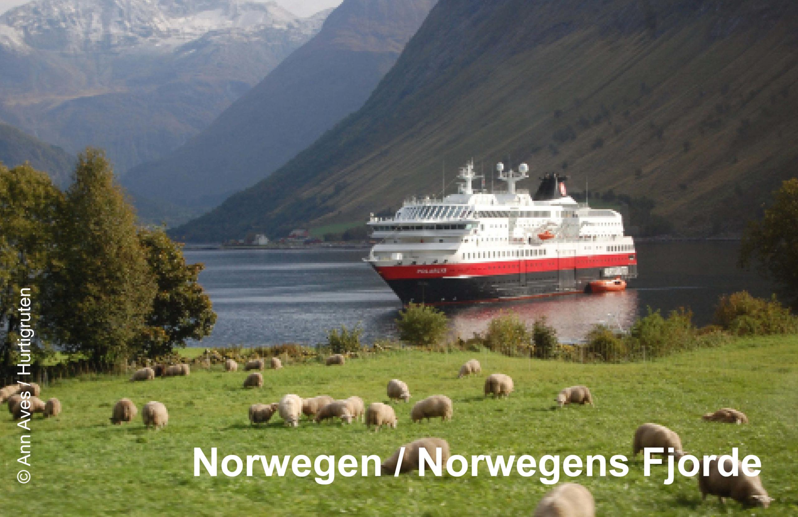 Hurtigruten Reiseziele Norwegen und Norwegische Fjorde