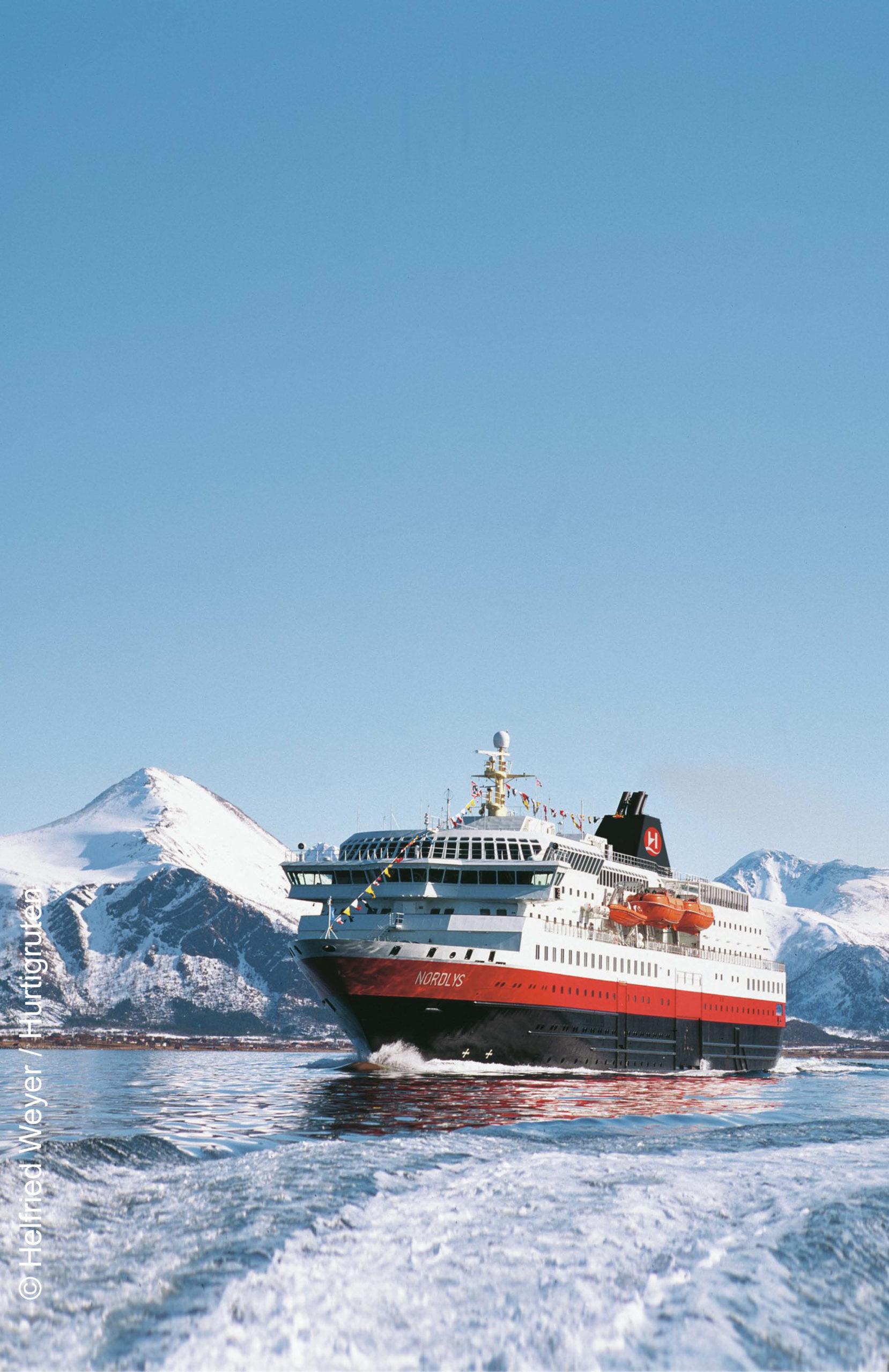 Hurtigruten MS Nordlys Winterreise