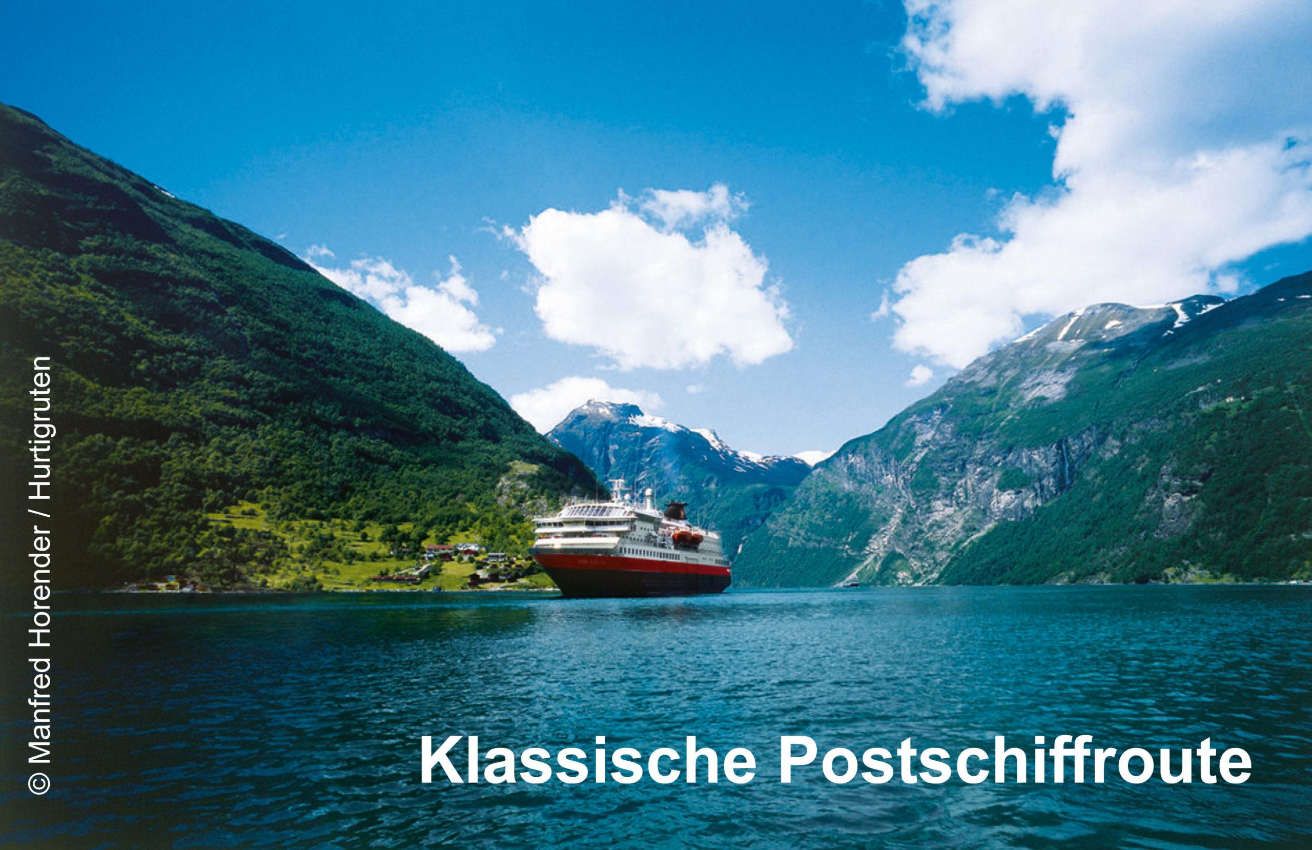 Hurtigruten Klassische Postschiffroute