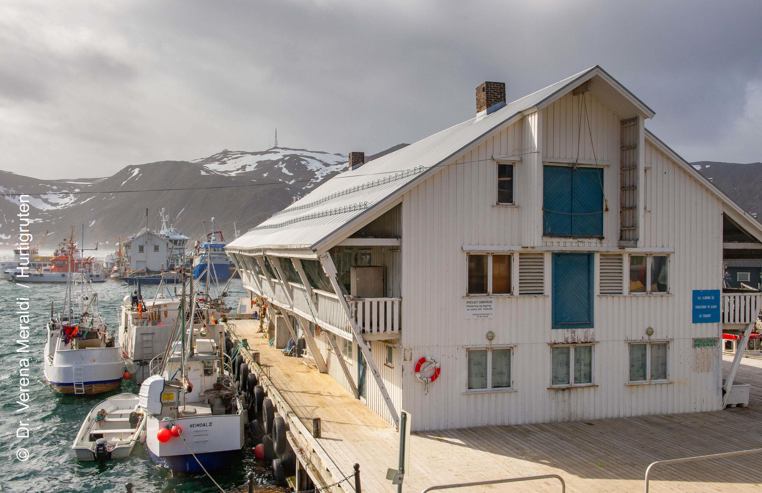 Hurtigruten Expedition Honningsvag Nordkap