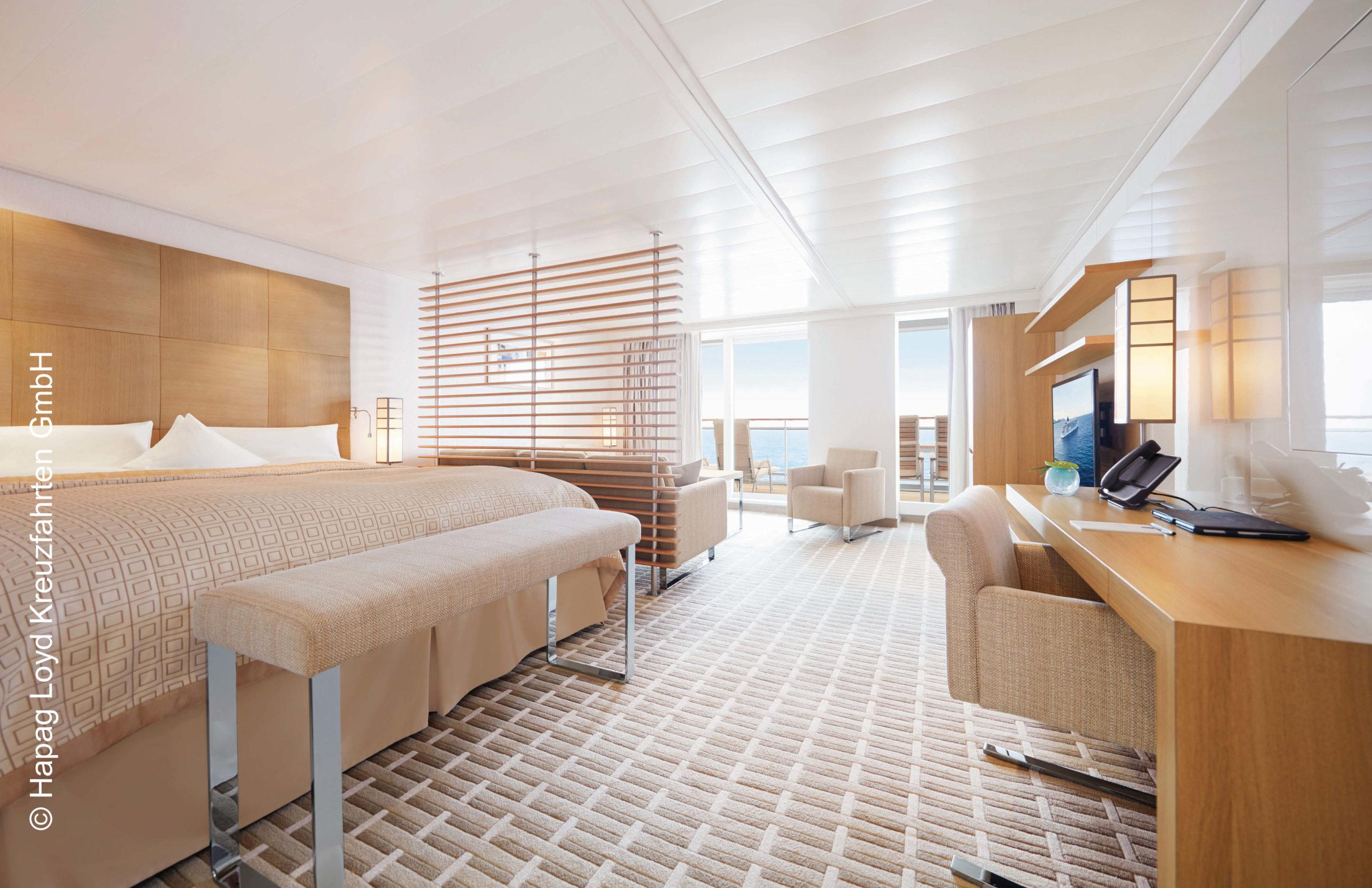 Hapag Lloyd Penthouse Suite MS Europa 2