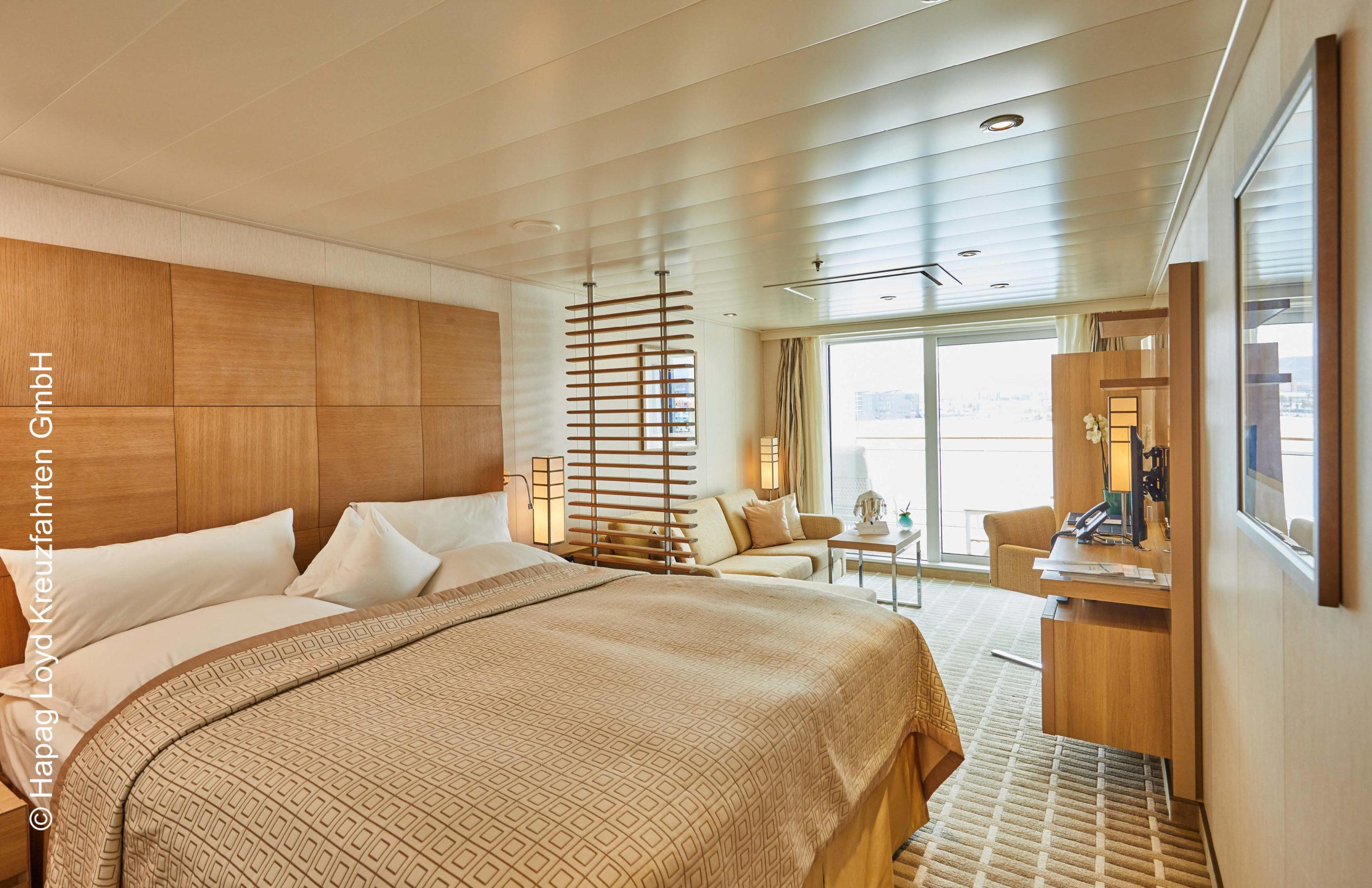 Hapag Lloyd Veranda Suite MS Euorpa 2