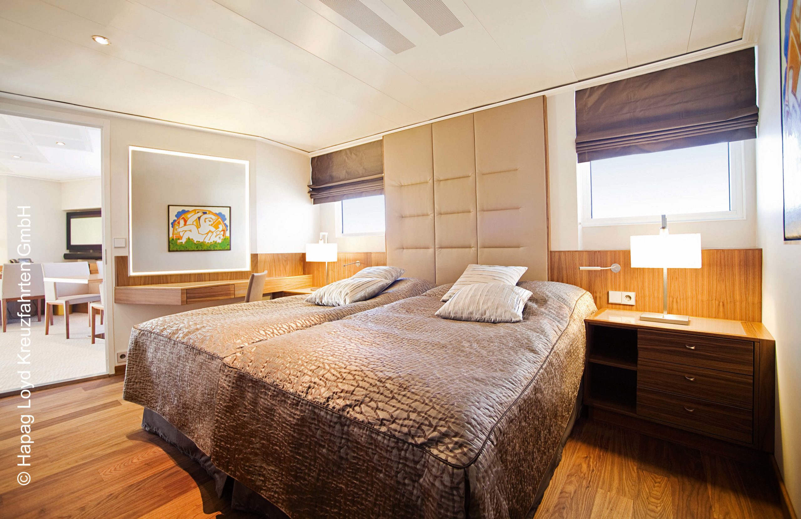 Hapag Lloyd Penthouse Grand Suite Europa 2
