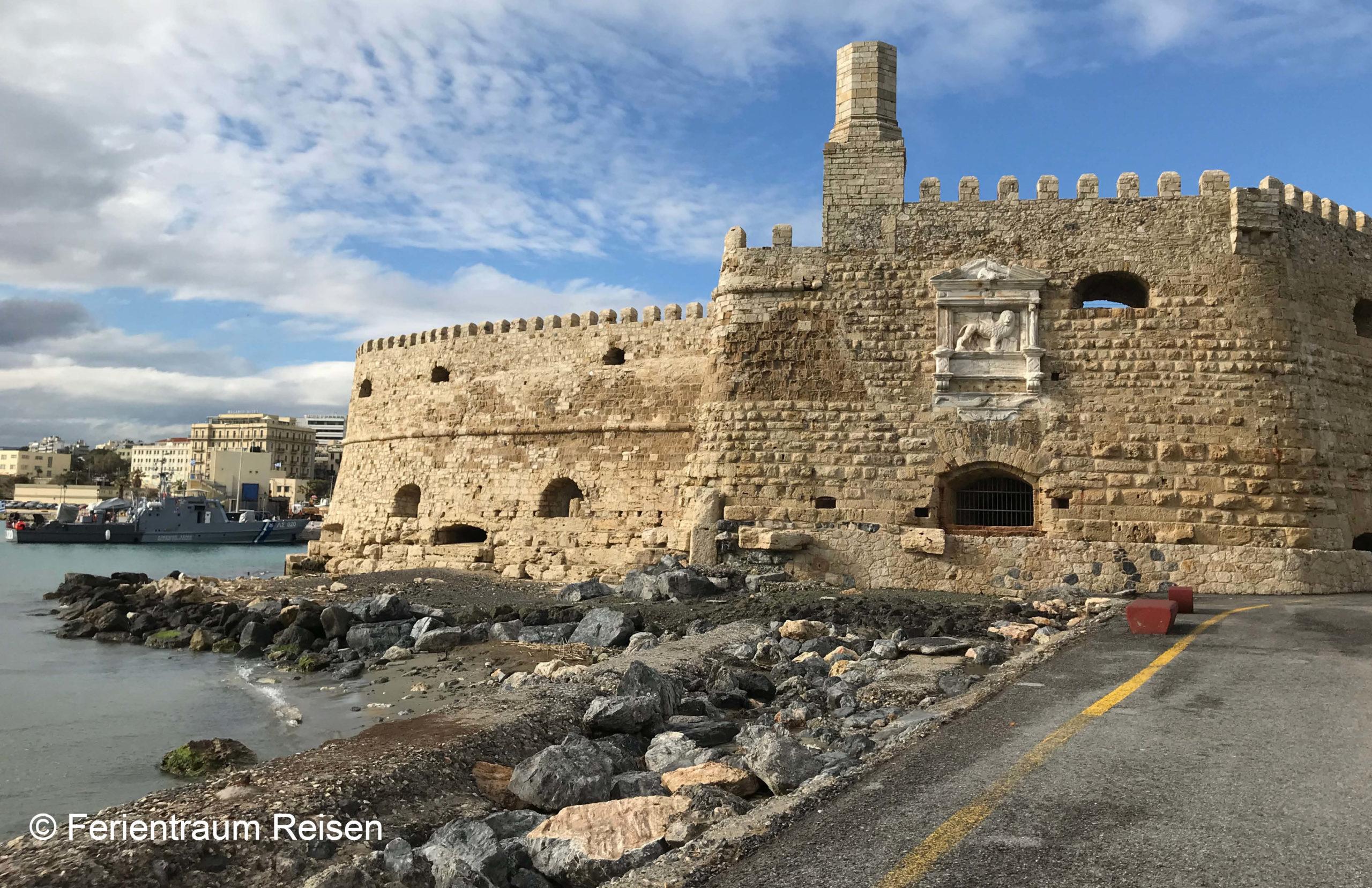 Ferientraum Reisen Kreta Hafen Iraklio