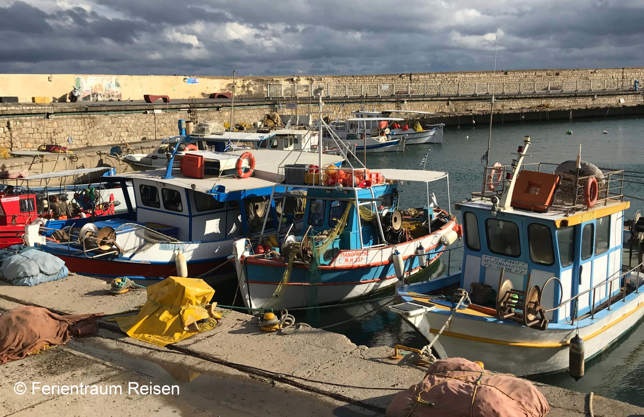 Ferientraum Reisen Hafen von Kreta