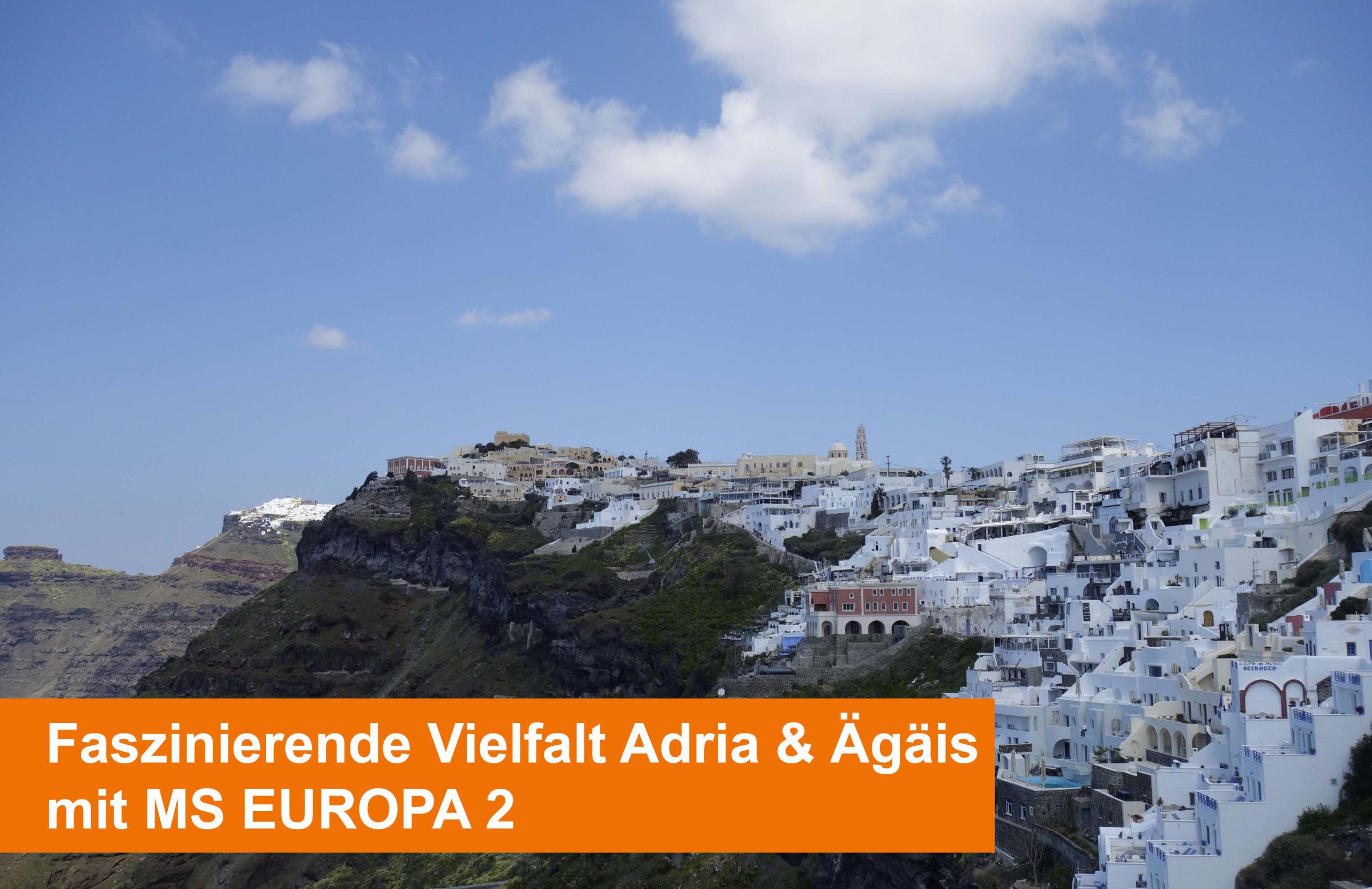 Hapag Lloyd Kreuzfahrten Europa 2 Adria & Ägäis Angebote