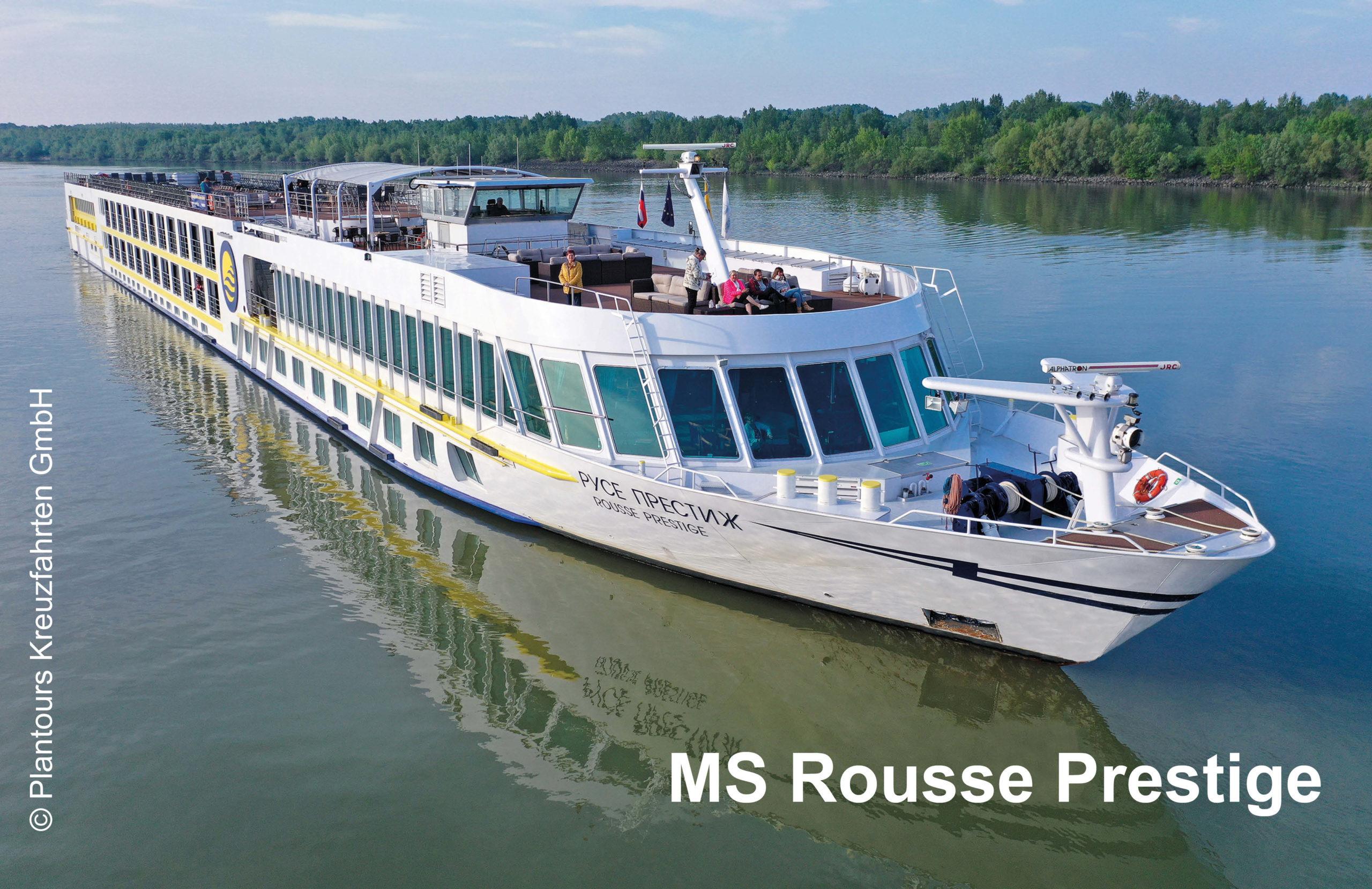 Plantours Flusskreuzfahrten MS Rousse Prestige