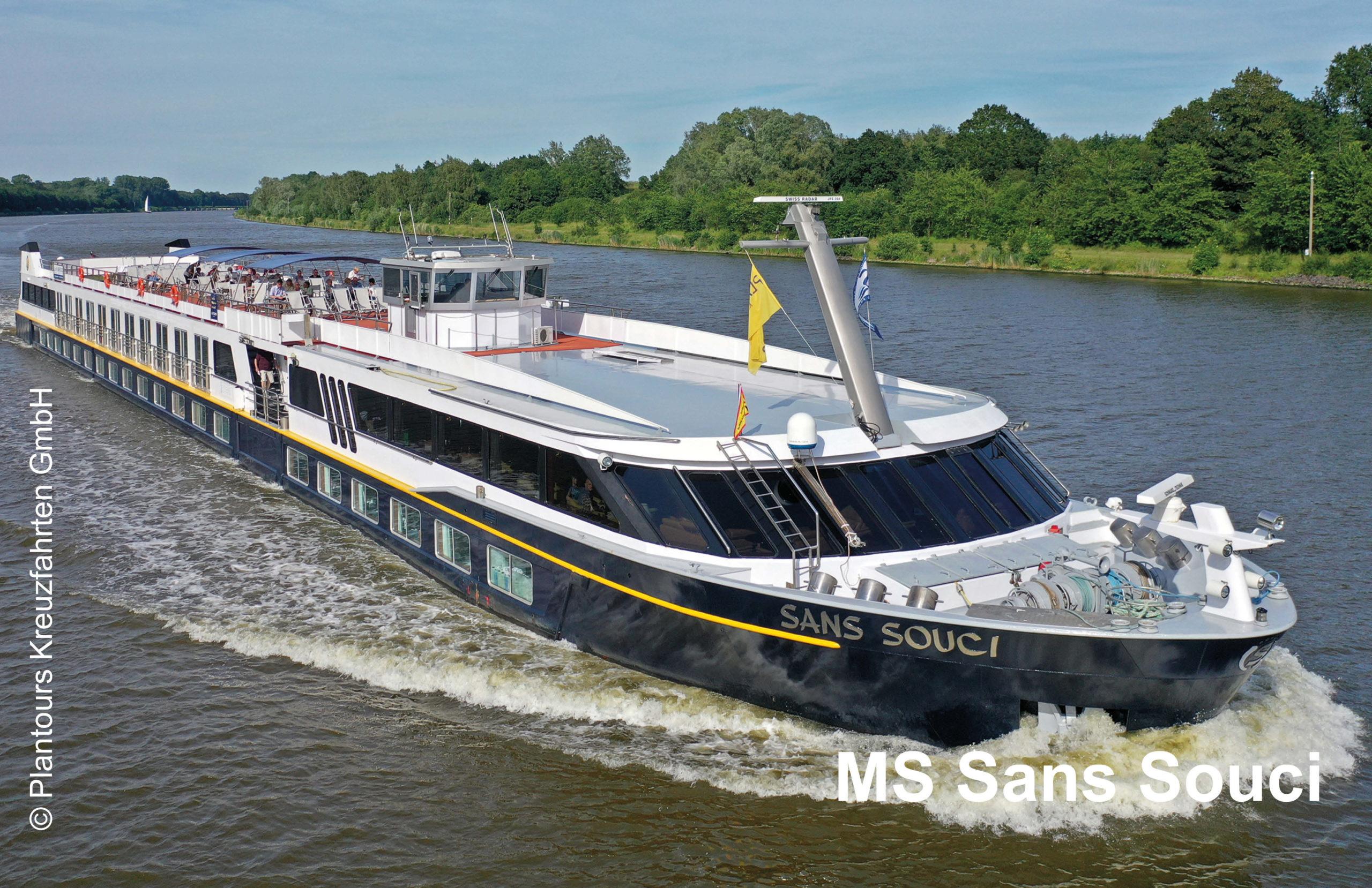Plantours Flusskreuzfahrten MS Sans Souci