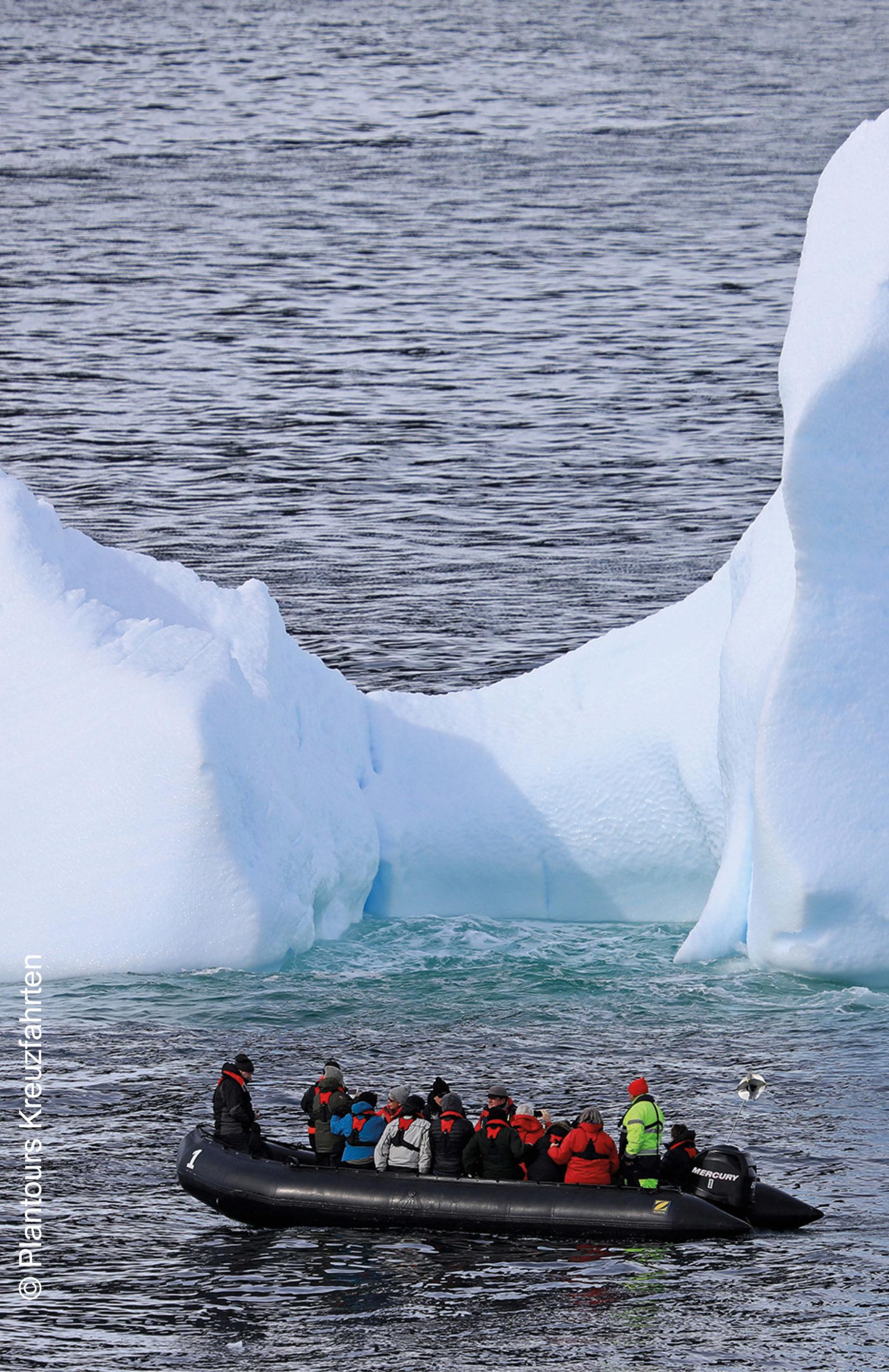 Plantours MS Hamburg Antarktis Zodiac Expedition