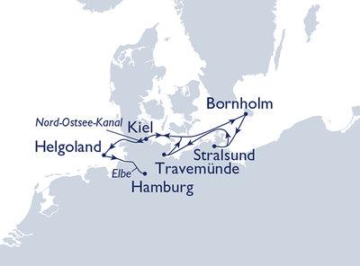 Plantours Kreuzfahrt mal anders ab Kiel bis Hamburg